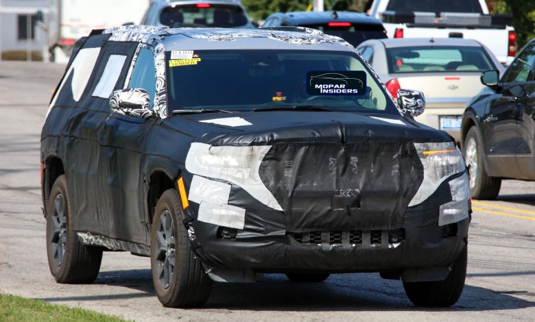 Photo of CAUGHT: The New Jeep® Grand Cherokee Three-Row In Final Form: