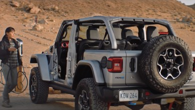 Photo of Our Best Look Of The 2021 Jeep® Wrangler Unlimited Rubicon 4xe Yet!