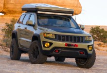 Photo of Inside Design: 2015 Jeep® Grand Cherokee Overlander:
