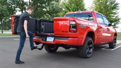 Photo of Mopar Releases Center Bed Step For Use With Multifunction Tailgate: