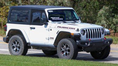 Photo of CAUGHT: 2021 Jeep® Wrangler Rubicon With Half-Doors: