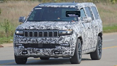Photo of CAUGHT: Our Best Look Yet Of The 2022 Jeep® Grand Wagoneer (WS):