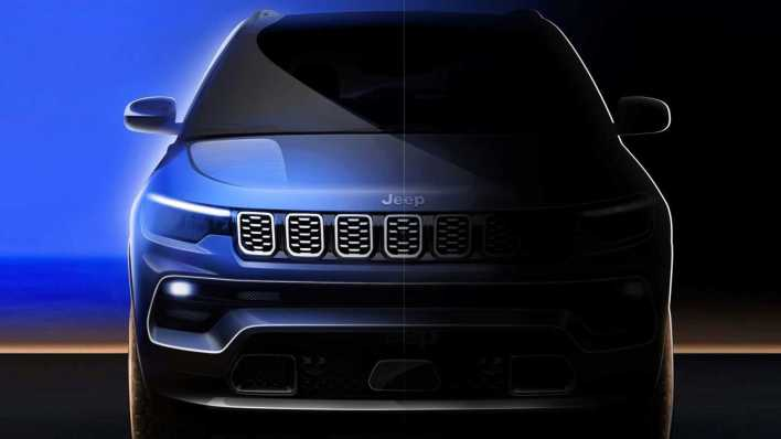 2022 Jeep® Compass Limited Teaser. (Jeep China).