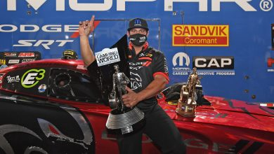 Photo of Hagan Clinches Third Championship After Dodge NHRA Finals Win!