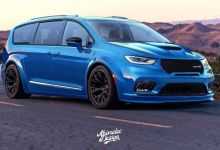 2021 Chrysler Pacifica SRT Hellcat Widebody Design. (Abimelec Design).