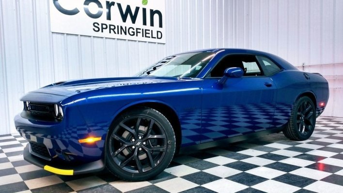 2021 Dodge Challenger RT Blacktop. (Corwin CDJR).