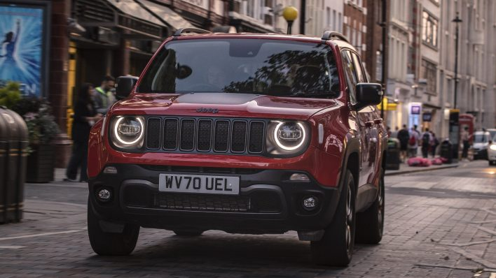 2020 Jeep® Renegade Trailhawk 4xe. (Jeep).