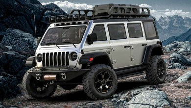 Jeep® Vangler Digital Concept. (Samirs Customs).
