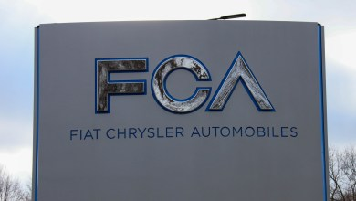 Fiat Chrysler Automobiles (FCA) Signage at CTC in January 2021. (MoparInsiders).