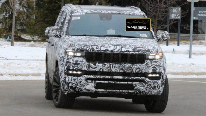 2022 Jeep® Grand Wagoneer (WS) Tester. (WagoneerForums).