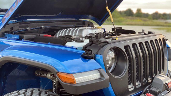 2020 Jeep® Gladiator Rubicon AMW 707 Conversion. (Gladiator Gang).