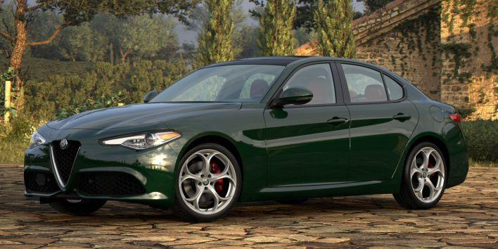 2021 Alfa Romeo Giulia Ti Sport AWD. (Alfa Romeo).