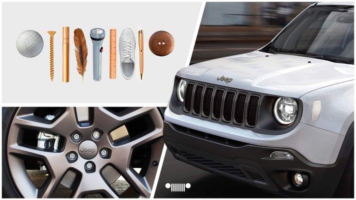 Mexican-Market 2021 Jeep® Renegade Polar Bronze Edition. (Jeep).