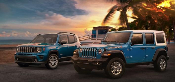2021 Jeep® Wrangler Islander and Jeep Renegade Islander. (Jeep).