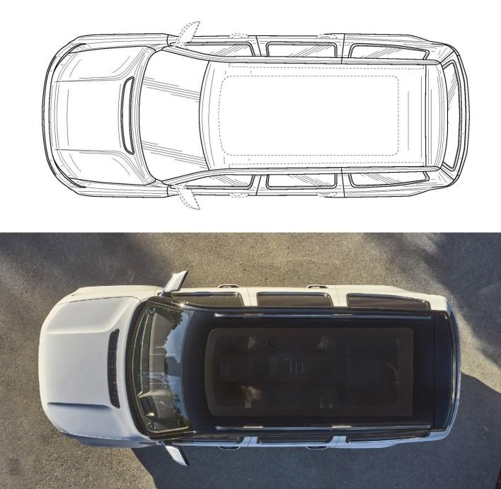 Jeep® Grand Wagoneer Patient VS Grand Wagoneer Concept. (MoparInsiders).