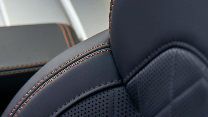 2022 Jeep® Grand Wagoneer premium leather seat teaser. (Jeep).