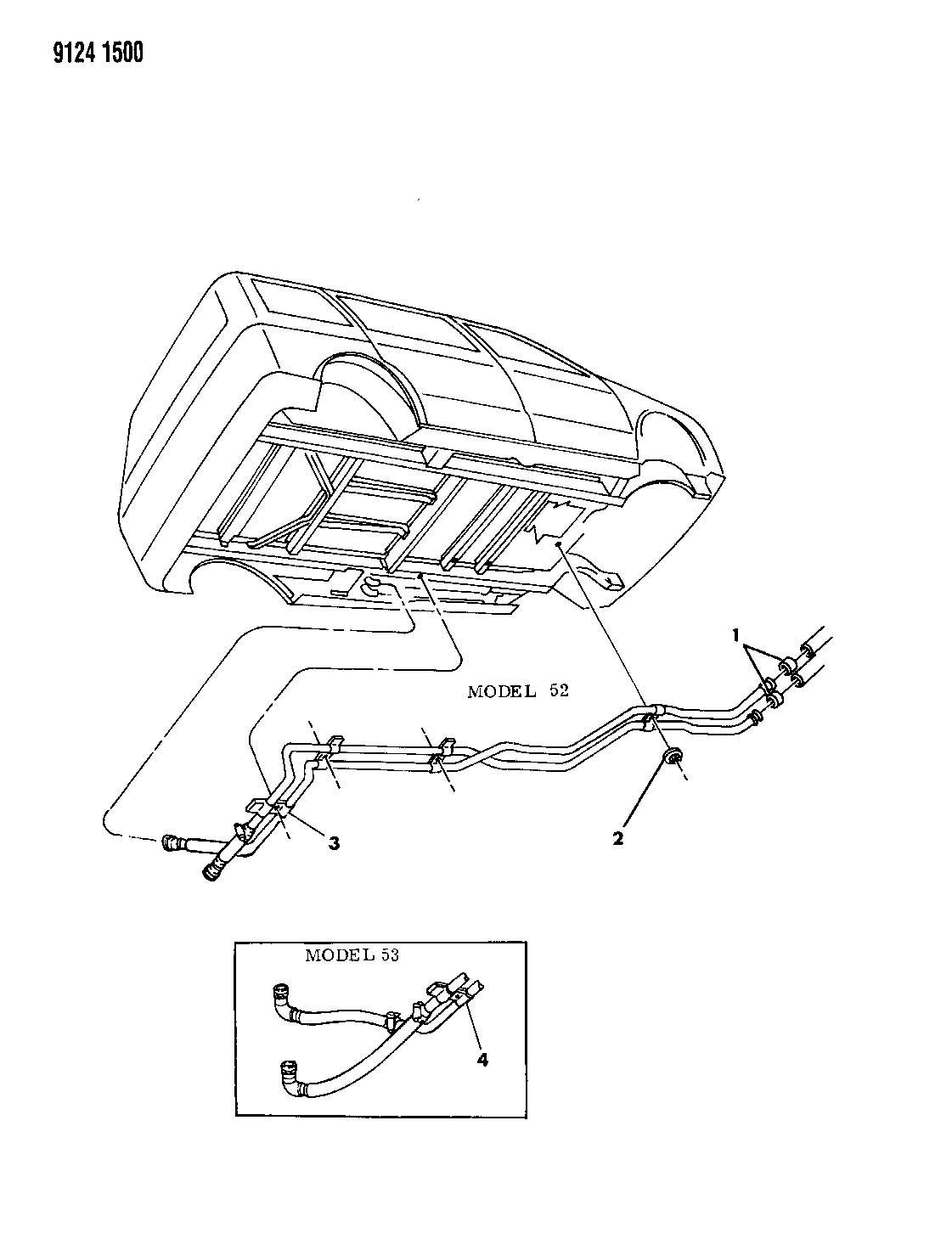 Dodge Grand Caravan Plumbing Heater Auxiliary