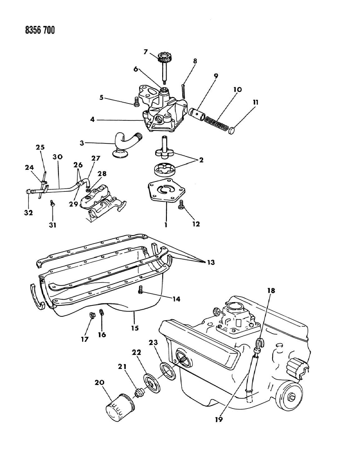 Dodge Dakota Engine Oiling 3 9l Engine