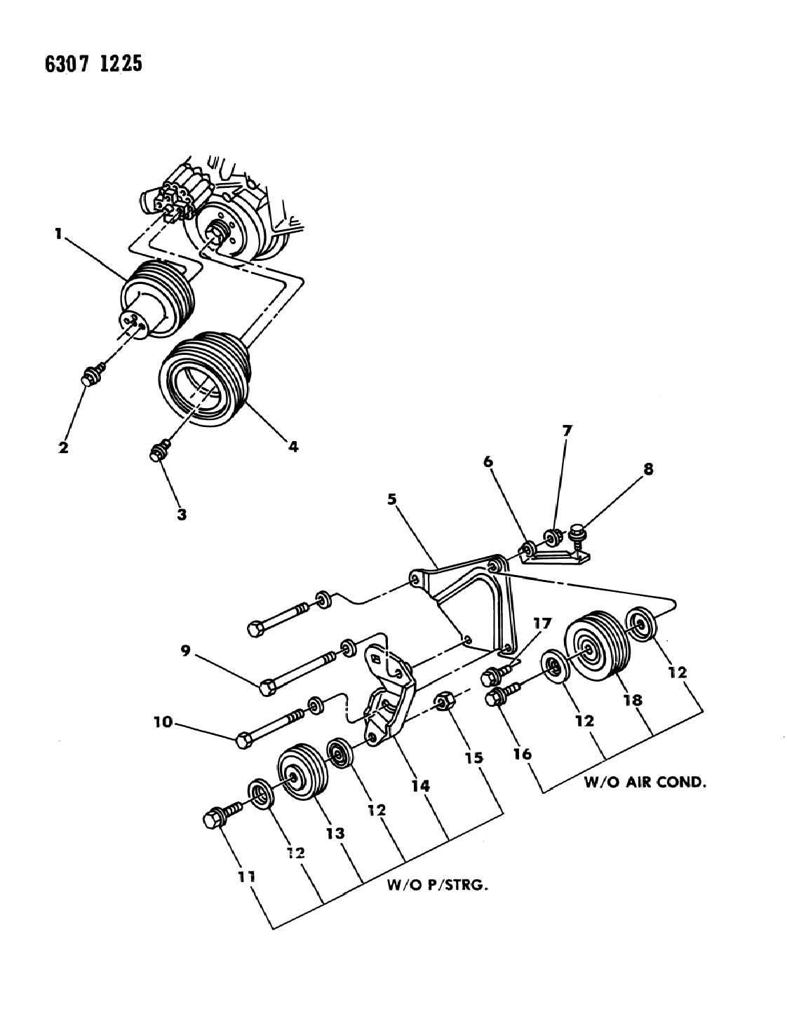 Dodge Dakota Drive Pulleys 3 9l Engine