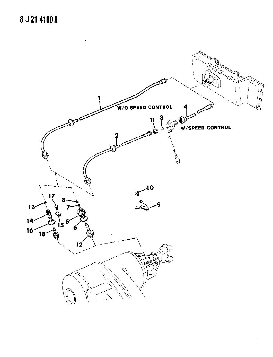 Jeep Comanche Cable Speedometer And Pinion Manual