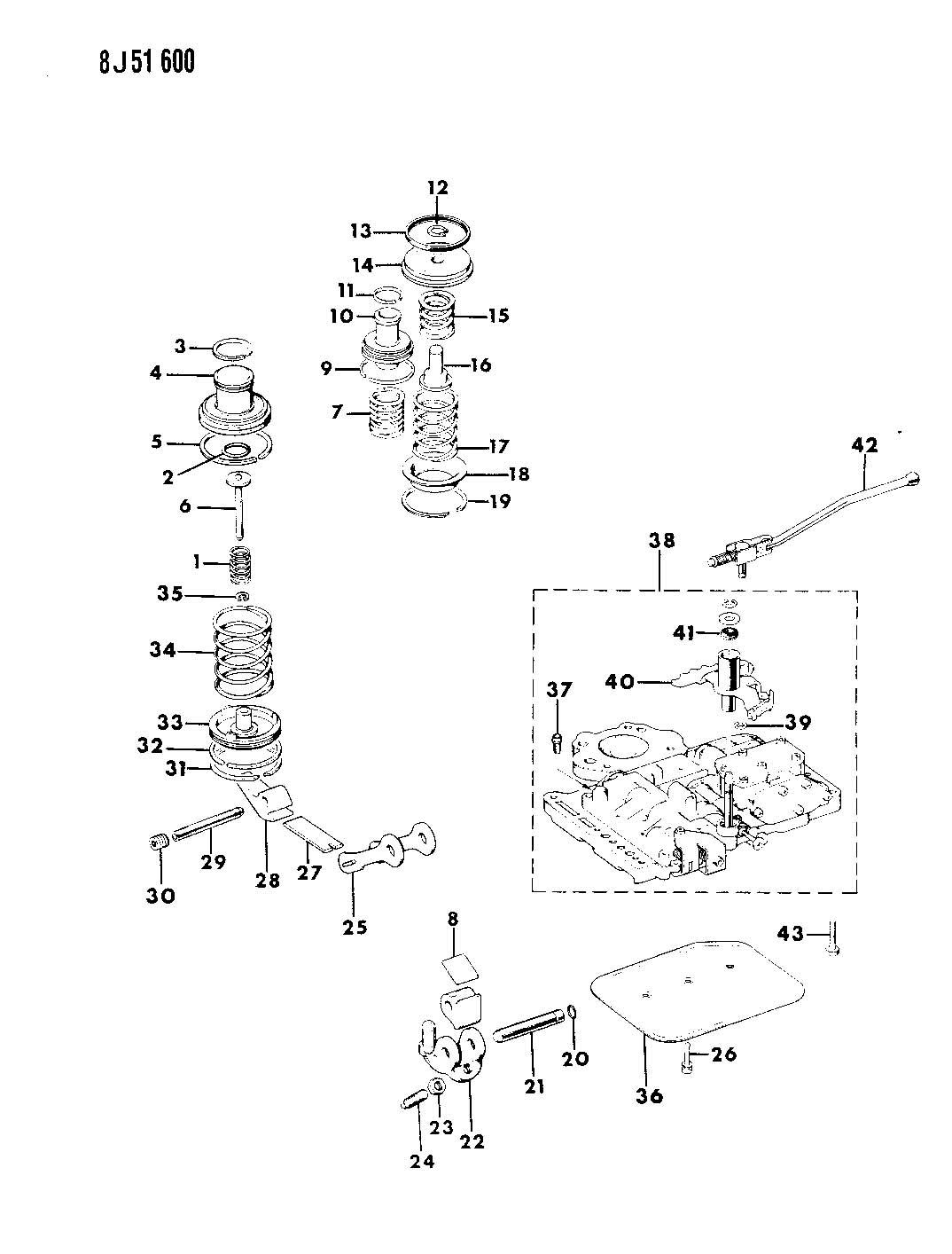 Jeep Wrangler Servos Accumulator And Valve Body