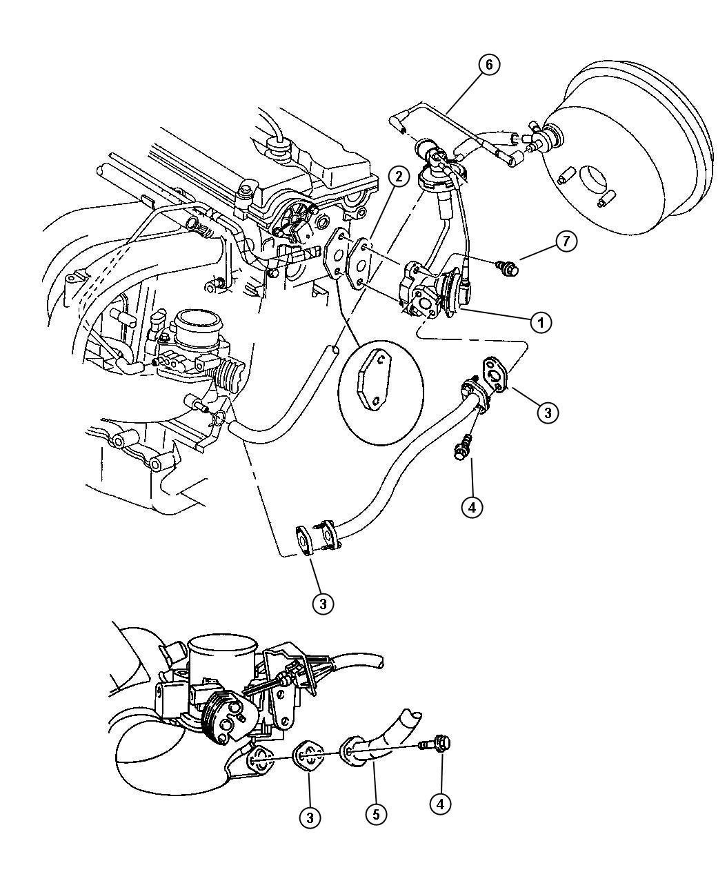 Dodge Stratus Egr System 2 4l Engine