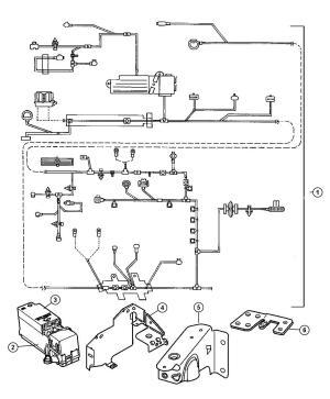 2000 Chrysler Cirrus WiringHeadlamp to Dash