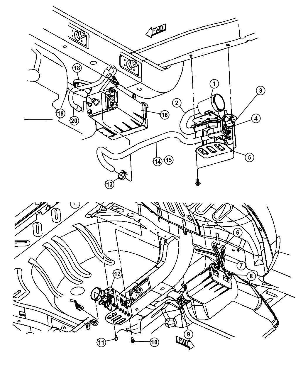 Dodge Neon Fuel Vapor Leak Detection Pump Dodge Free