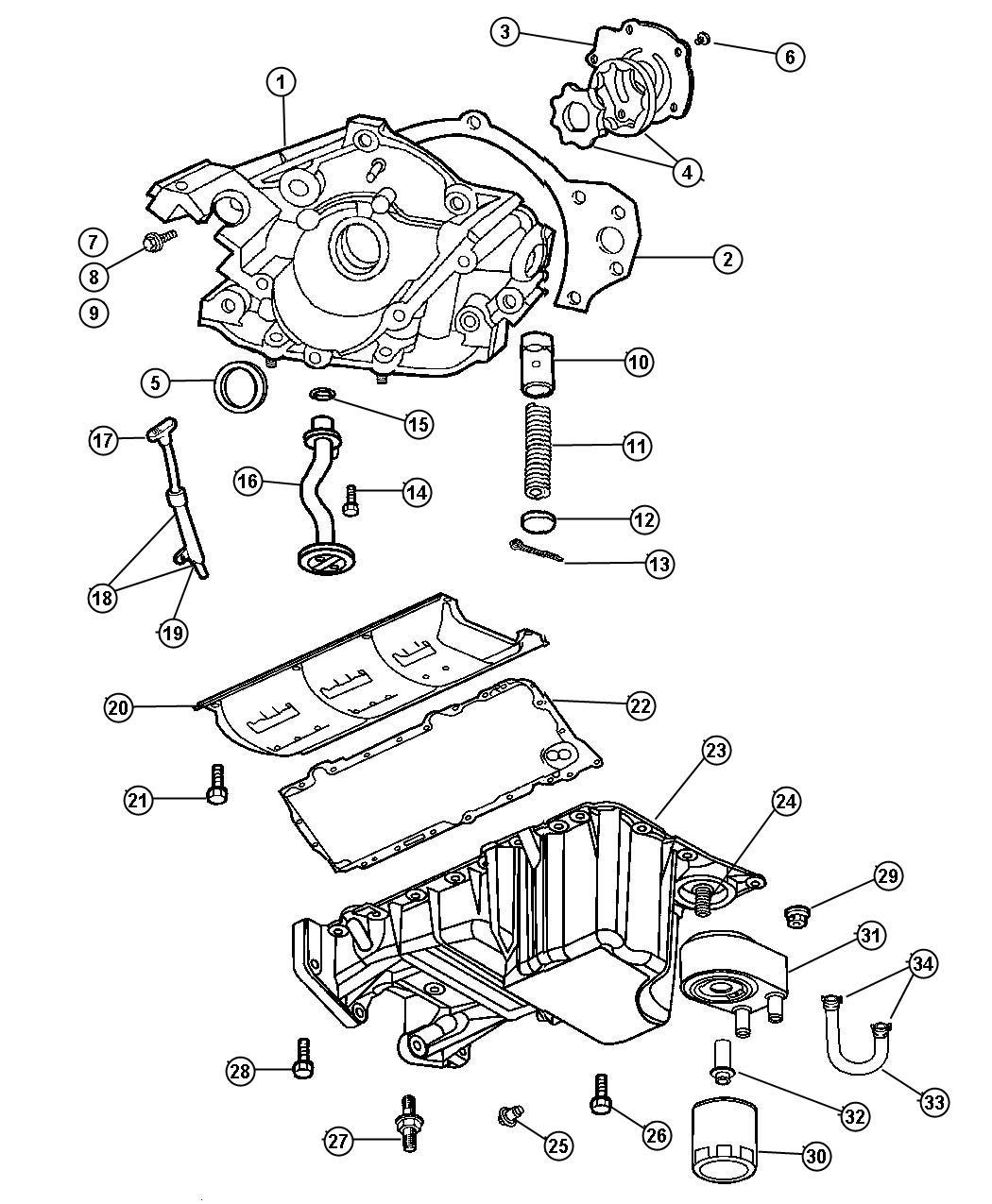 Chrysler Engine Oiling 3 5l Egg