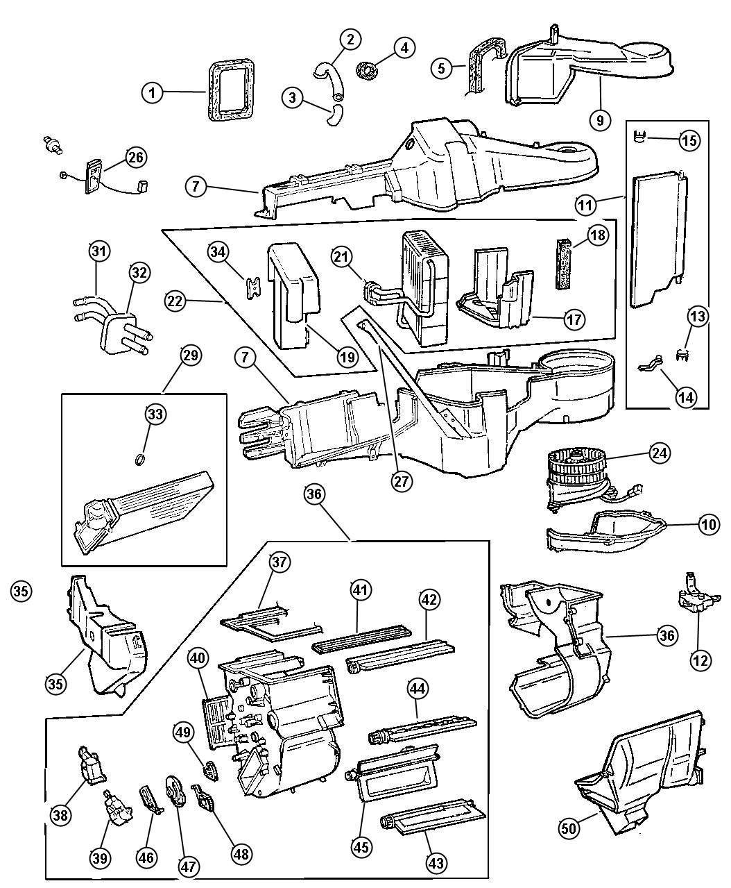 Plymouth Voyager How To Remove Heater Core