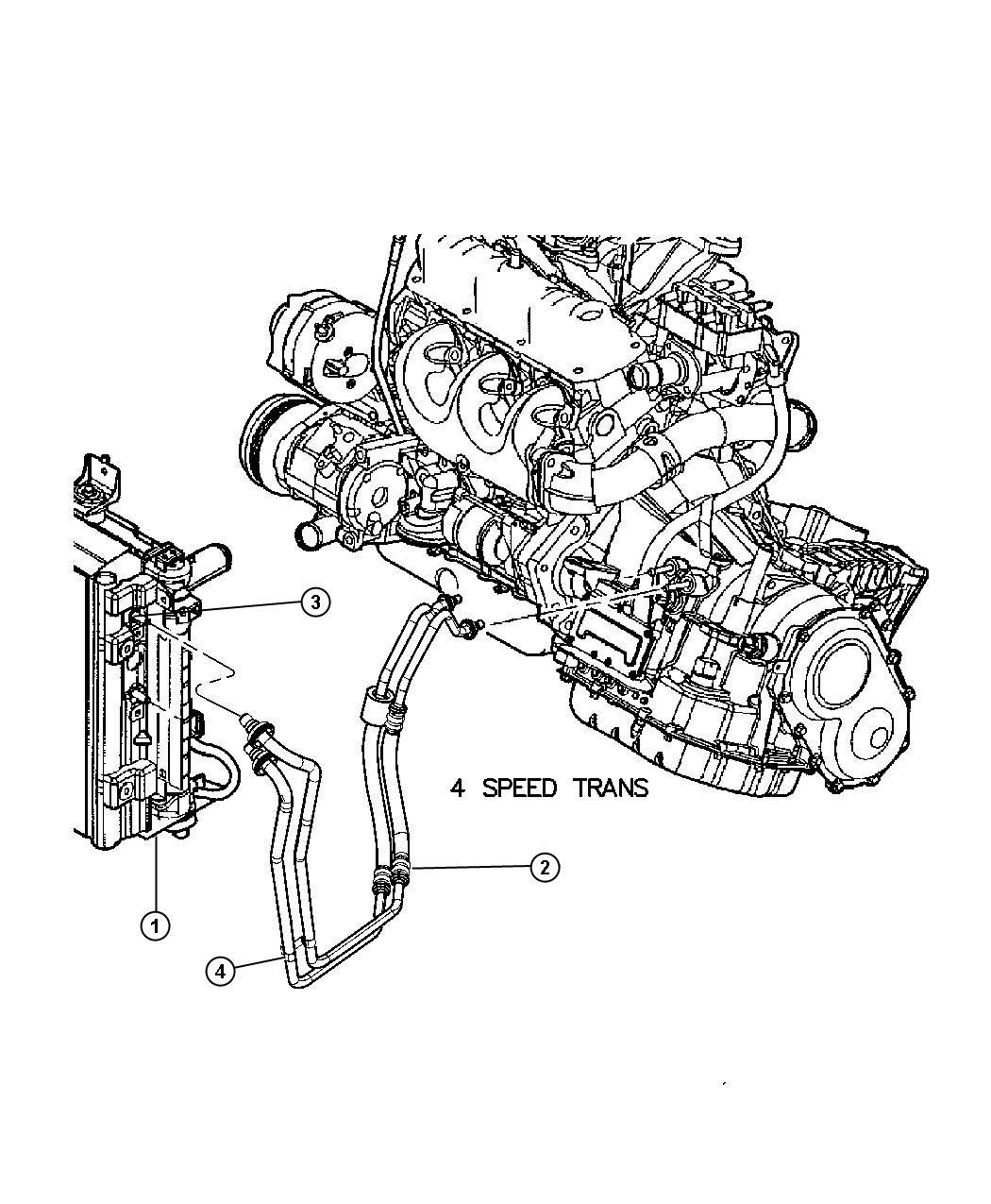 Transmission Oil Cooler And Lines