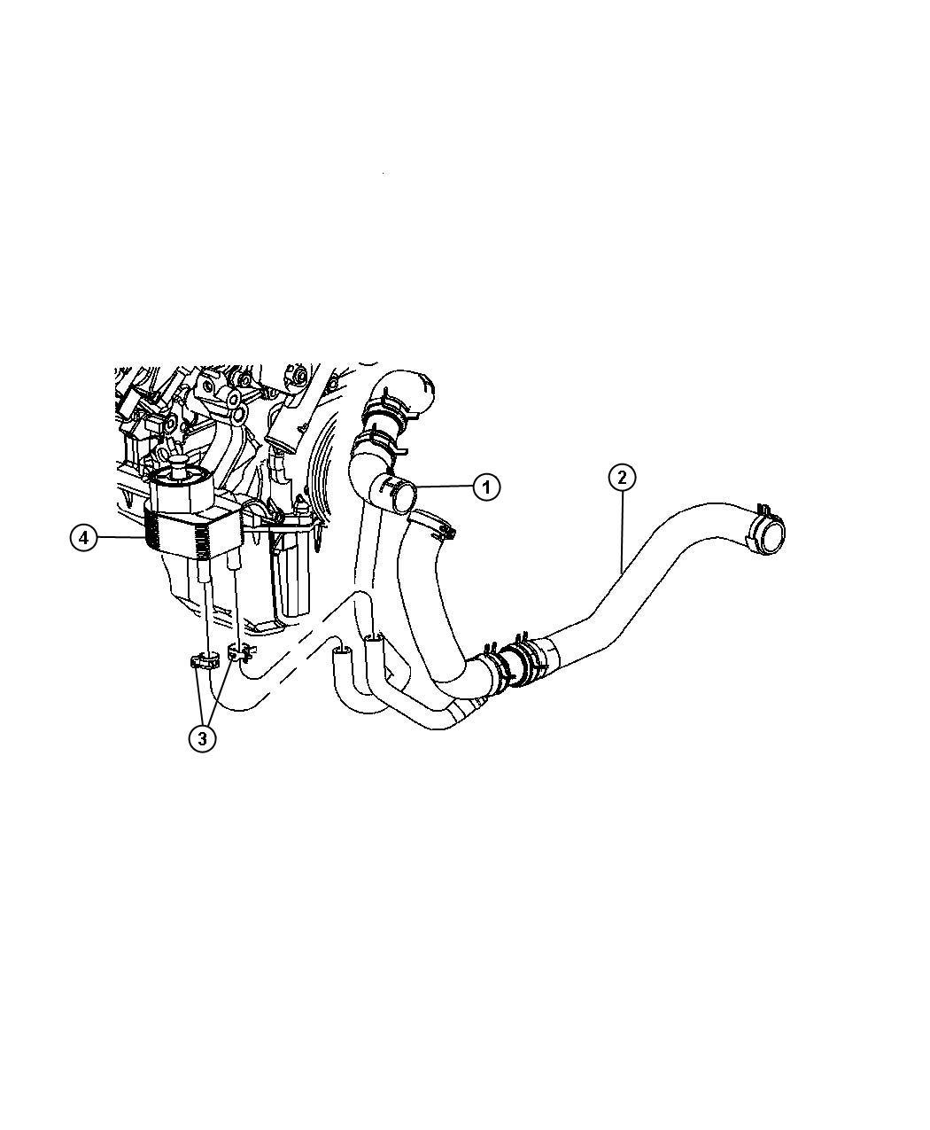 Chrysler 300 Engine Oil Cooler 5 7l Ezb