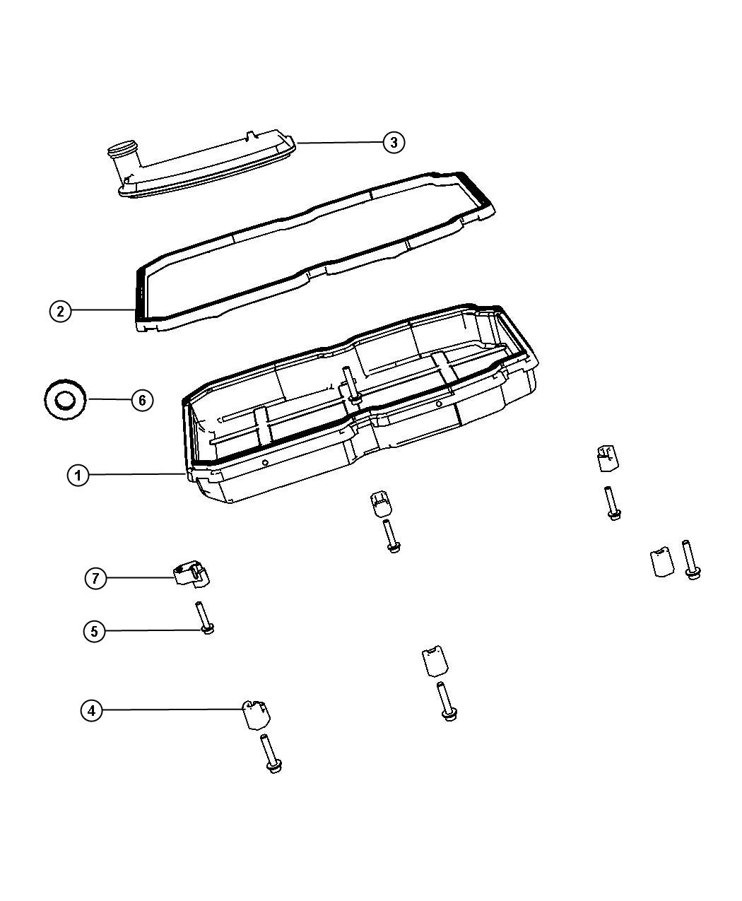 Dodge Nitro Oil Pan Gasket Amp Filter