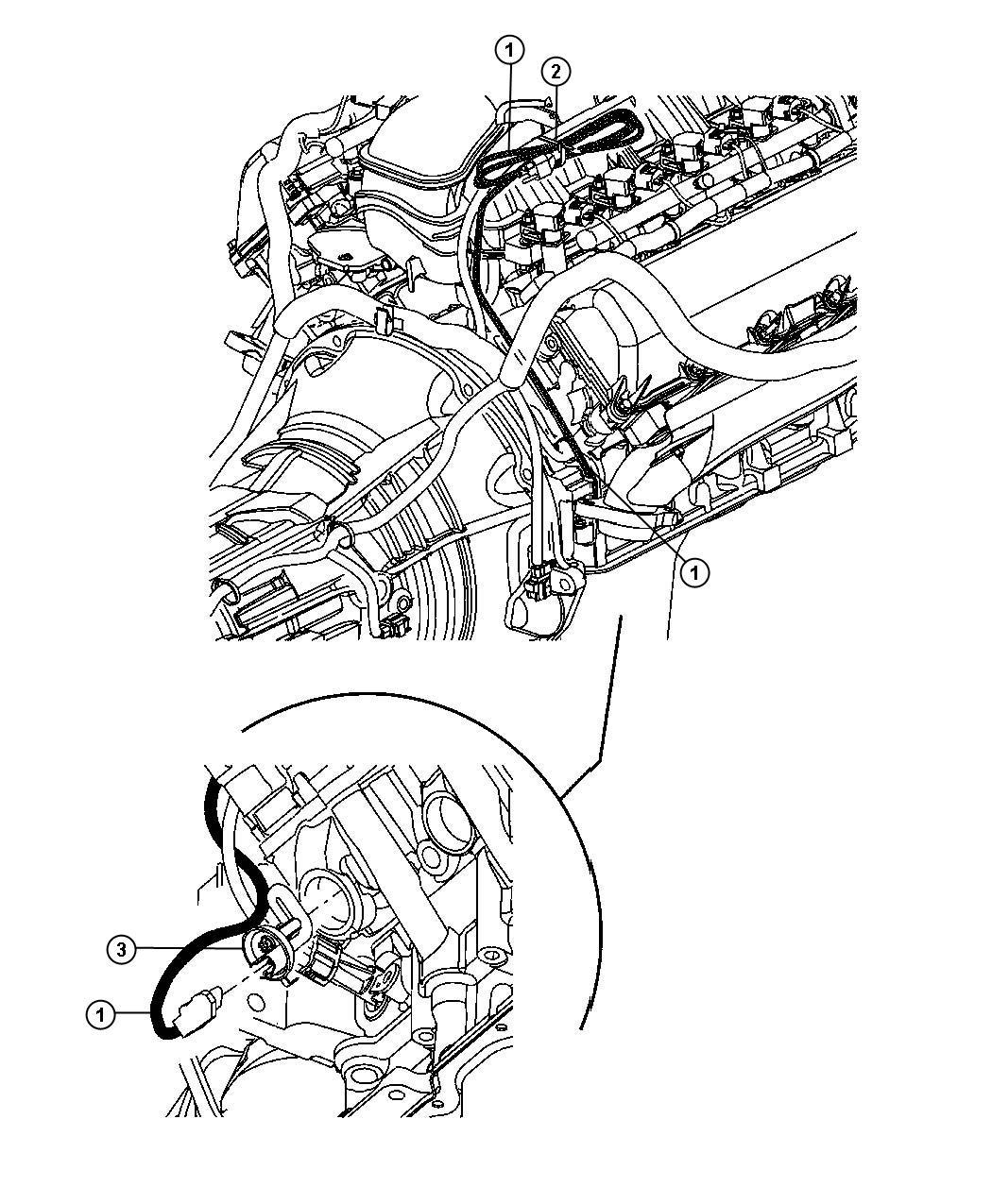 Jeep Liberty Cylinder Block Heater 3 7l Ekg