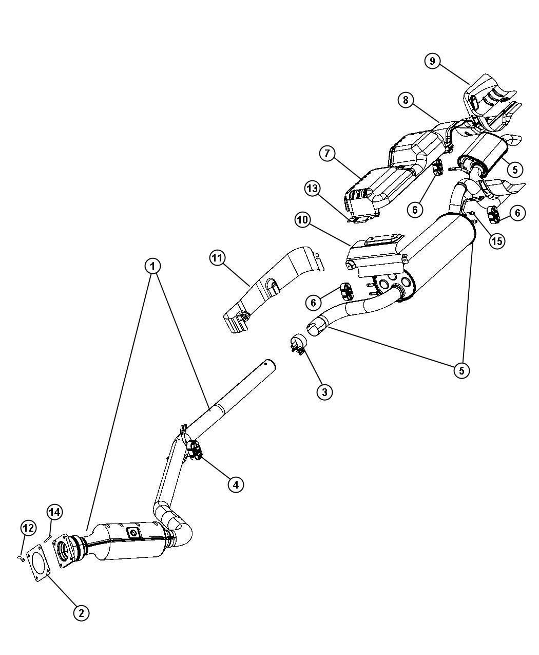 Chrysler Exhaust System