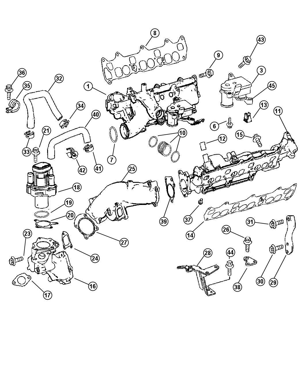 Dodge Sprinter Intake Manifold