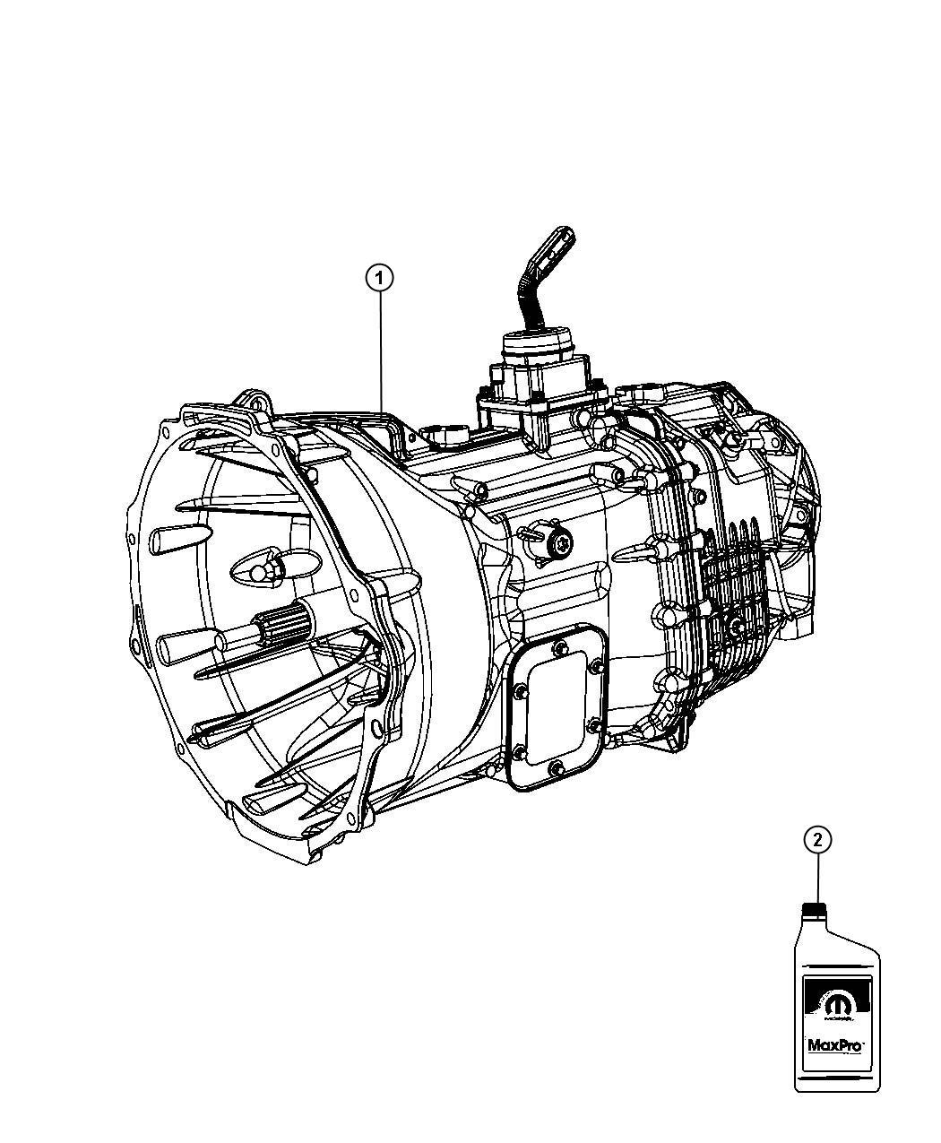 Dodge Ram Transmission Transaxle Assembly