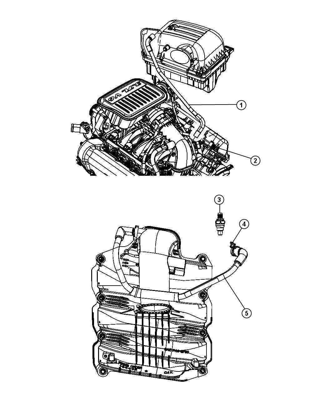 Dodge Nitro Crankcase Ventilation 3 7l Ekg