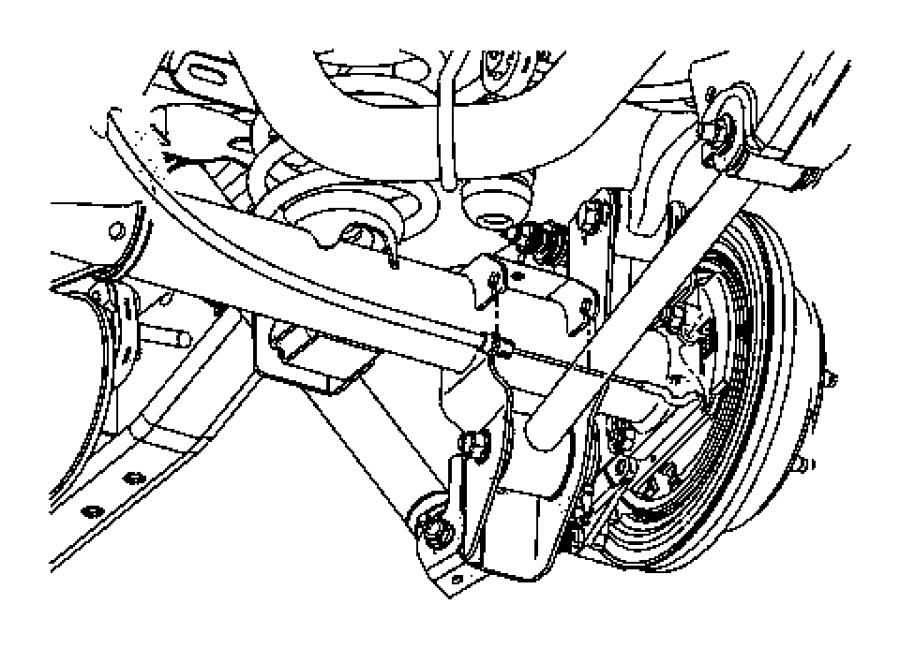 52060204AM - Mopar Cable. Parking Brake