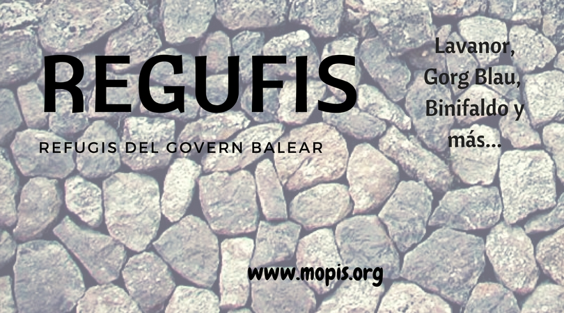 REFUGIOS PARTE I.Refugis del Govern Balear