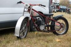 Yamaha med lite udda ram.