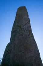 Leubaz kallas jag. Hrafn kallas jag. Jag, erilen, ristar runorna. (Järsbergsstenen)