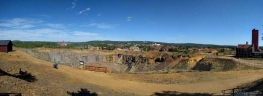 Falu gruva och stad