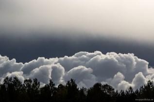 Blå himmel i all ära men moln är allt bra fint.