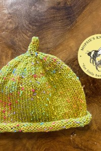 Raindrops on Moss Hat