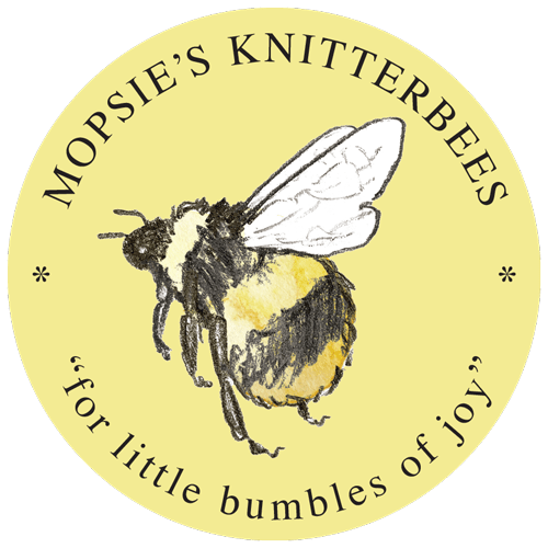 "Mopsie's Knitterbees ""for little bumbles of joy"""