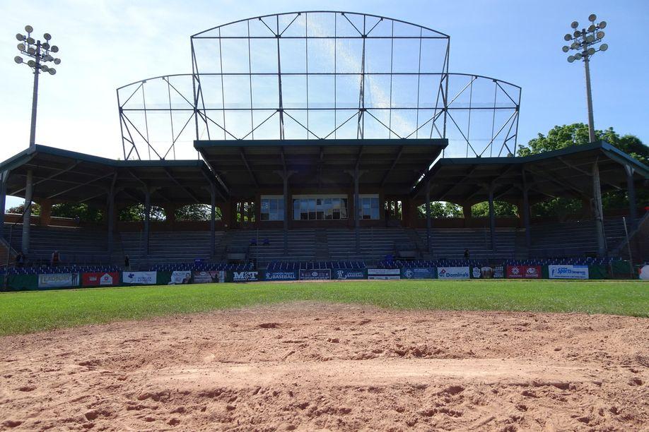 Labatt Park Backstop