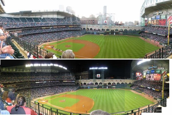 Panoramic Minute Maid Park