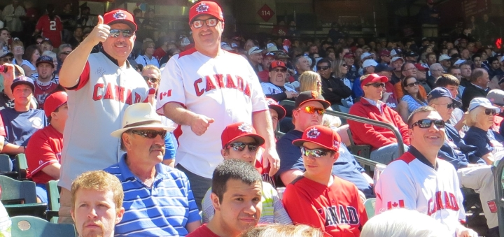 Canadian Baseball Fans