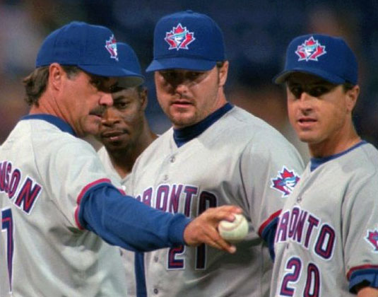 Tim Johnson Roger Clemens